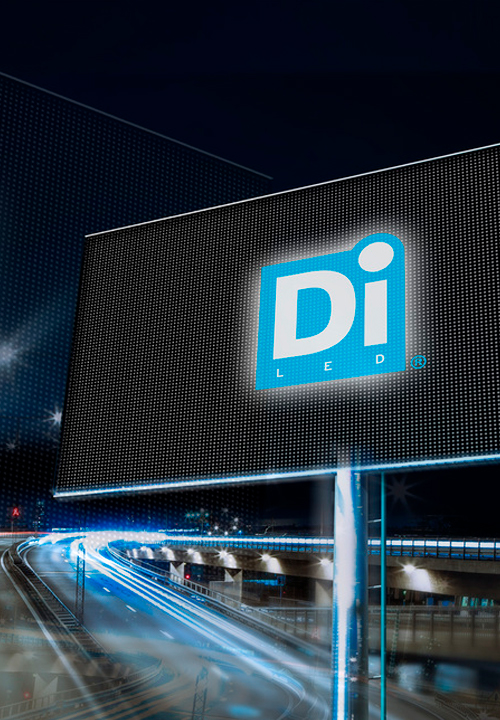 Remote controlled LED-screens, video walls and outdoor billboards